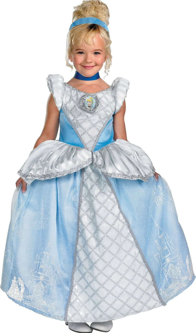 Disguise Storybook Cinderella Prestige XS(3T-4T)