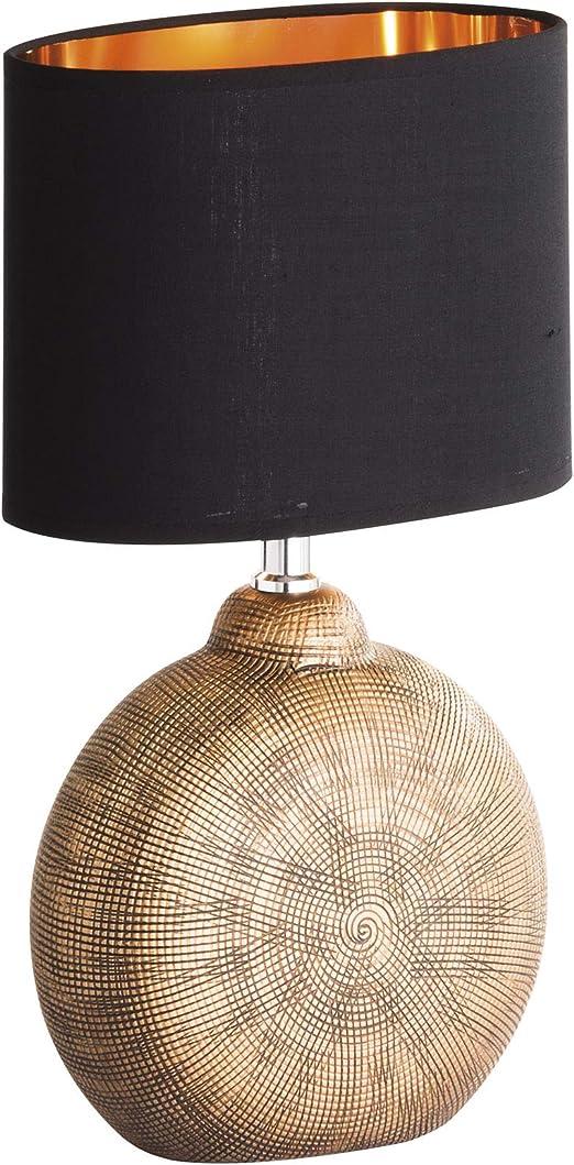 Honsel Lámpara de mesa, colores bronce: Amazon.es: Iluminación
