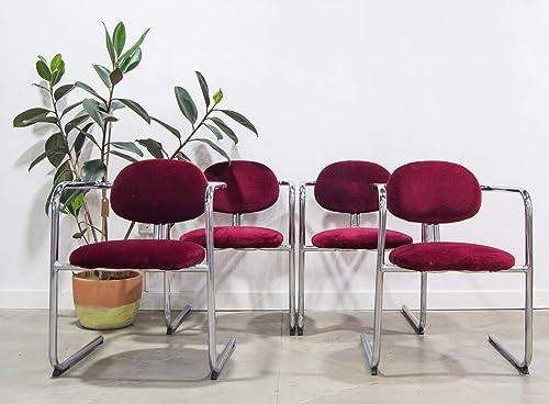 Conjunto de sillas comedor, estilo vintage industrial ...