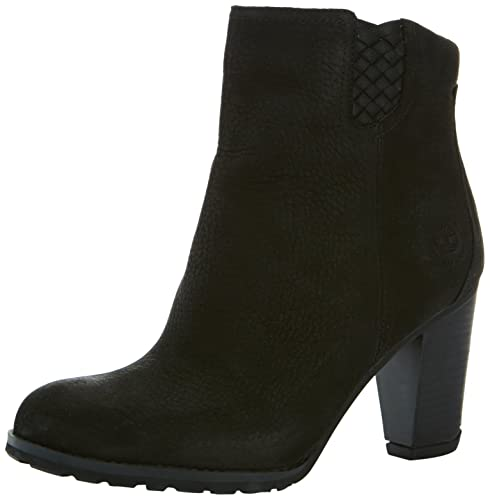 Timberland Stratham Heights 2.0 Ankle, Botines tacón para Mujer, Negro, 41.5 EU: Amazon.es: Zapatos y complementos