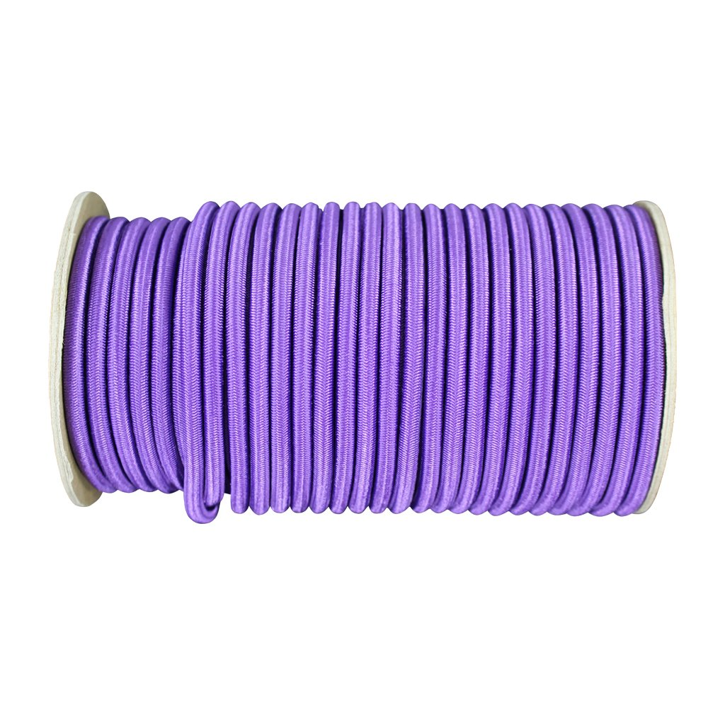 DIY Projects Outdoor Tie Downs UV Marine Grade Dacron Polyester Bungee Indoor Moisture Commercial Weather Resistant SGT KNOTS 10 feet - Maroon 100/% Stretch Shock Cord 1//4 inch