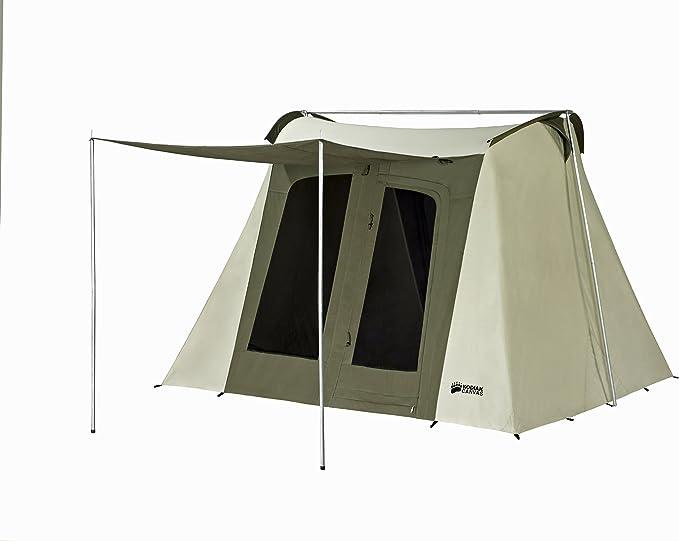 Ongekend Amazon.com : Kodiak Canvas Flex-Bow 6-Person Canvas Tent, Deluxe PG-07