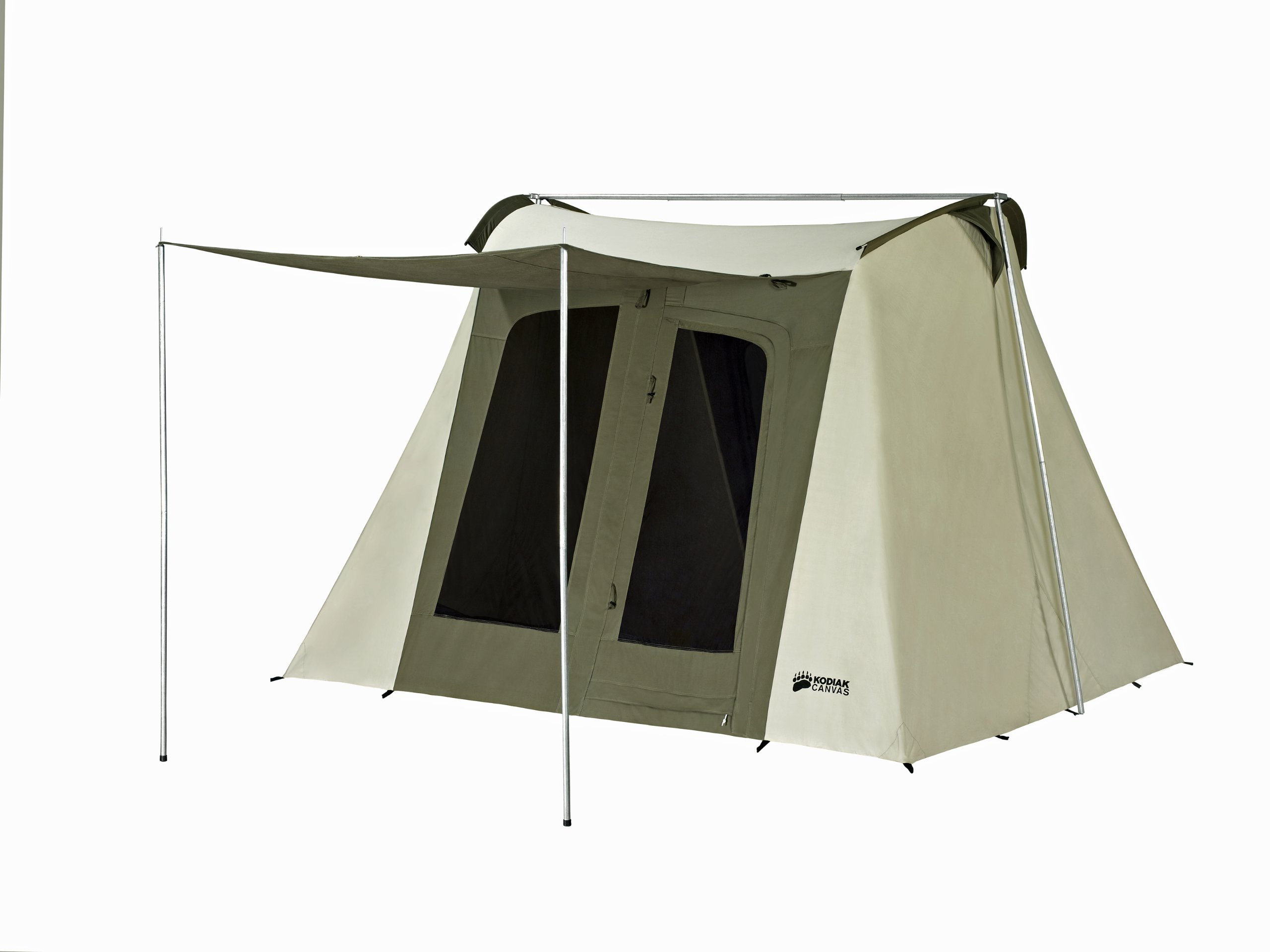 Kodiak Canvas Flex-Bow 6-Person Canvas Tent, Deluxe by Kodiak Canvas (Image #1)