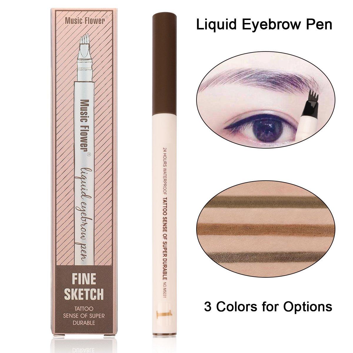 Amazon Eyebrow Pen Waterproof Microblading Eyebrow Pen Smudge