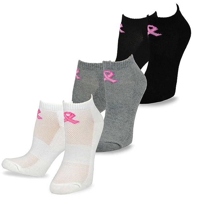 Amazon.com: teehee lazo rosa no show calcetines de cojín ...