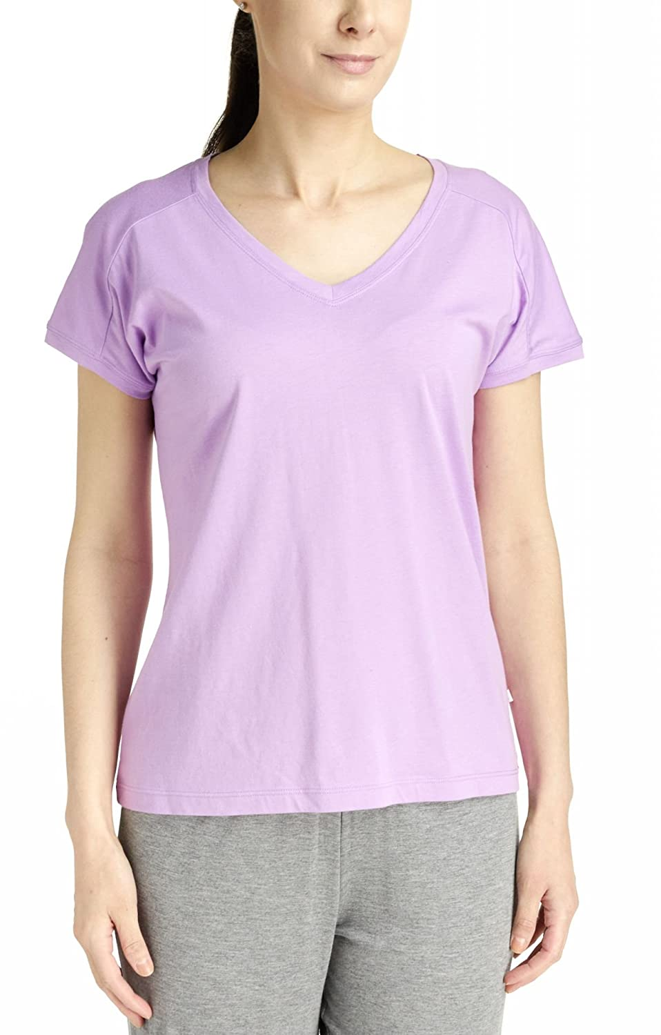 French Dressing Sleepwear Women's Island Splendor Short Sleeve V-Neck Top