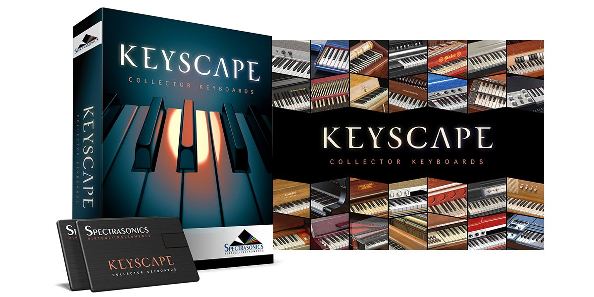 SPECTRASONICS スペクトラソニックス Keyscape  【正規輸入品】 数々のコレクターキーボード楽器を集めた巨大なヴァーチャルインストゥルメント   B01LW1XDCJ