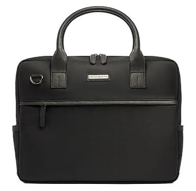 9b728189c66a Archer Brighton Walker Business Laptop Slim Briefcase, Men's Classic 15.6 &  17 Inch Business Computer