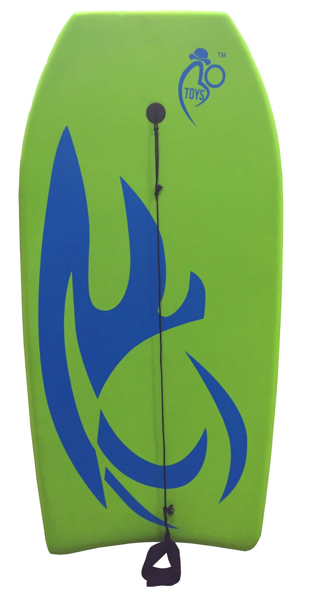 Bo-Toys Body Board Lightweight with EPS Core (Green, 41-INCH) by Bo-Toys