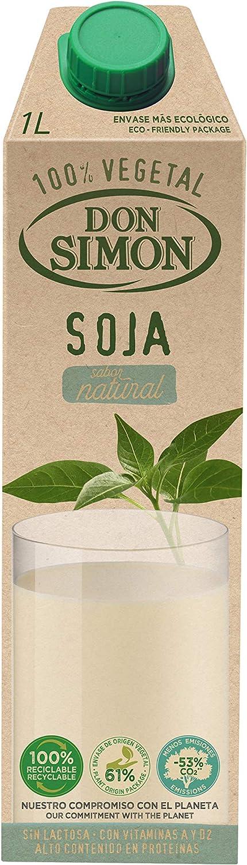 Don Simón Leche de Soja - Caja 1 l: Amazon.es: Alimentación y ...