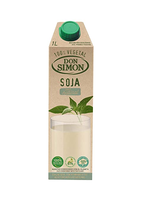Don Simo Leche de Soja - 1000 ml: Amazon.es: Amazon Pantry
