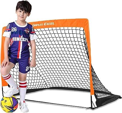 Dimples Excel Portería de Fútbol para Niños Plegables Portería Red ...