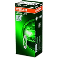 OSRAM 6418ULT ULTRA LIFE, C5W, bijzonder duurzaam, halogeen signaallampen, kartonnen vouwdoos (10 lampen), 12 x 11 x 11…
