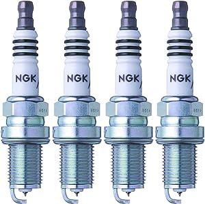 NGK (3764) BKR6EIX-11 Iridium IX Spark Plug (4 Pack)