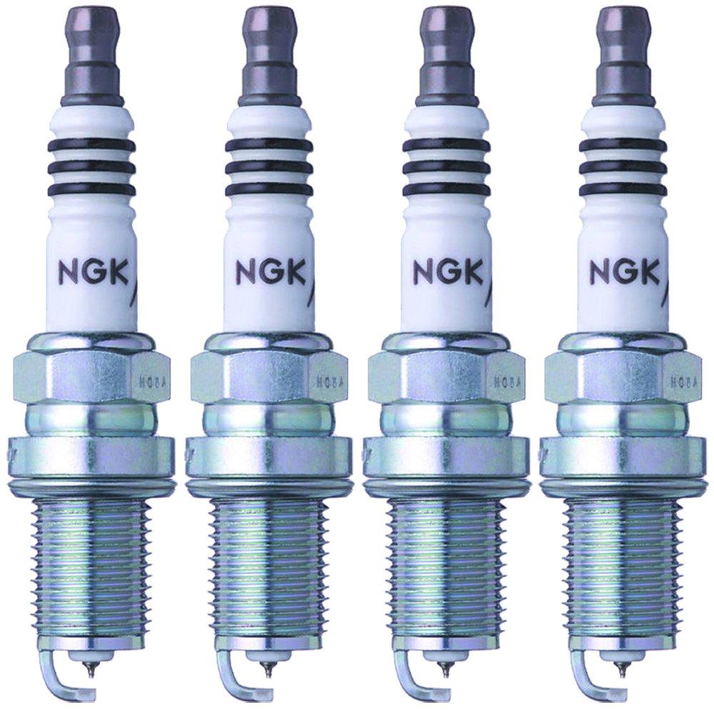 NGK (3764) BKR6EIX-11 Iridium IX Spark Plug (4 Pack), Spark Plugs ...
