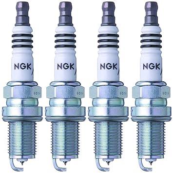 NGK (3764) BKR6EIX-11 Bujía de iridio IX (4 unidades): Amazon.es: Coche y moto
