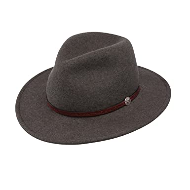 Stetson Mens Cromwell Wool Felt Crushable Water Repellent Olive Mix Crusher  Collection Cowboy Hat at Amazon Men s Clothing store  3f53e63de