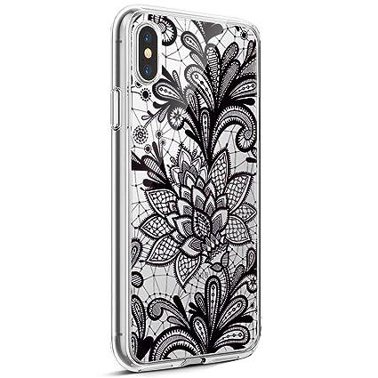 Surakey Cover iPhone X Ultra Sottile e Morbida Custodia Silicone
