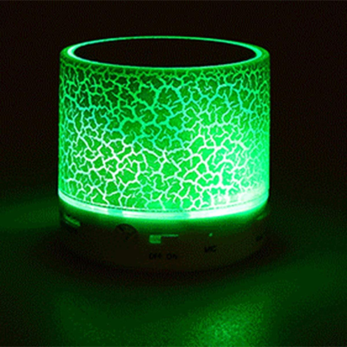 Greatangle Smart LED Light Crack Mini Altavoz estéreo ...
