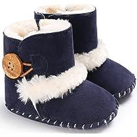 Gupgi Botas de Invierno Cálidas para Bebés y Niñas, con Suela Suave para Recién Nacidos, Zapatos de Nieve
