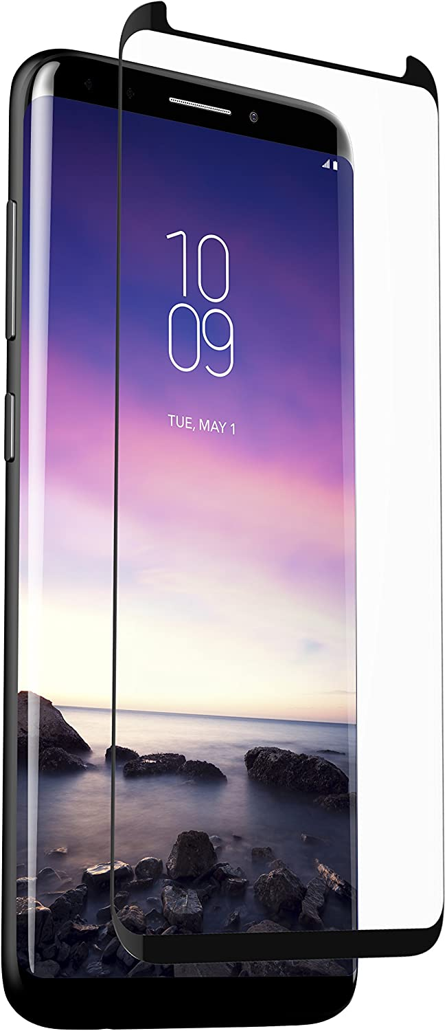 ZAGG InvisibleShield Glass Curved Elite - Screen Protector for Samsung Galaxy GS9 - clear