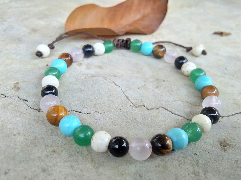 Bracelets,Lava stone bracelets,Tiger eye stone bracelets,Turquoise stone bracelets,It is fashionable for both men and women,Use as a gift.