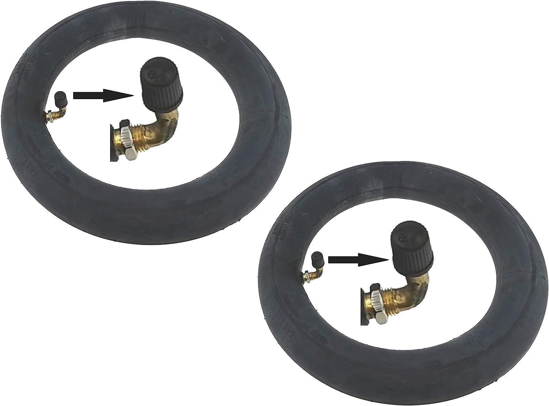 2 tuyaux P4B Pneus 10 avec tuyaux pour pneus AV en Noir Pneu de Poussette 2 pneus Chambre /à air de v/élo chauffante Pneus de v/élo 54-152