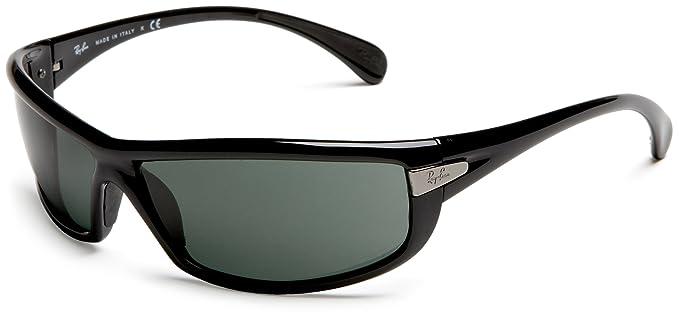 Ray-Ban Gafas de sol Para Hombre RB4054-601/71: Negro: Ray ...