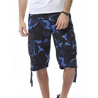 Pantalones Cortos Hombre Verano Casual Moda Trabajo Pants Deporte ...
