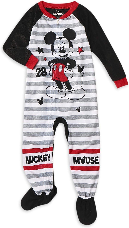 Disney Little Boys Toddler Mickey Mouse Blanket Sleeper Pajamas