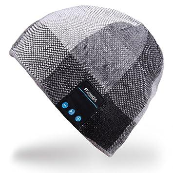 Rotibox Hombre Mujer Bluetooth Audio Gorra Cap Gorra con Altavoz Estéreo  Auriculares da8f6cd9d10
