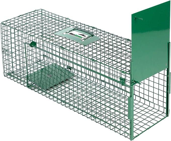 Maxx - trampa para ratas trampa en vivo - trampa para trampas loca trampa de caja trampa para jaulas en vivo trampa para animales trampa para ratones - para ratones, ratas, roedores - 75x25x30cm