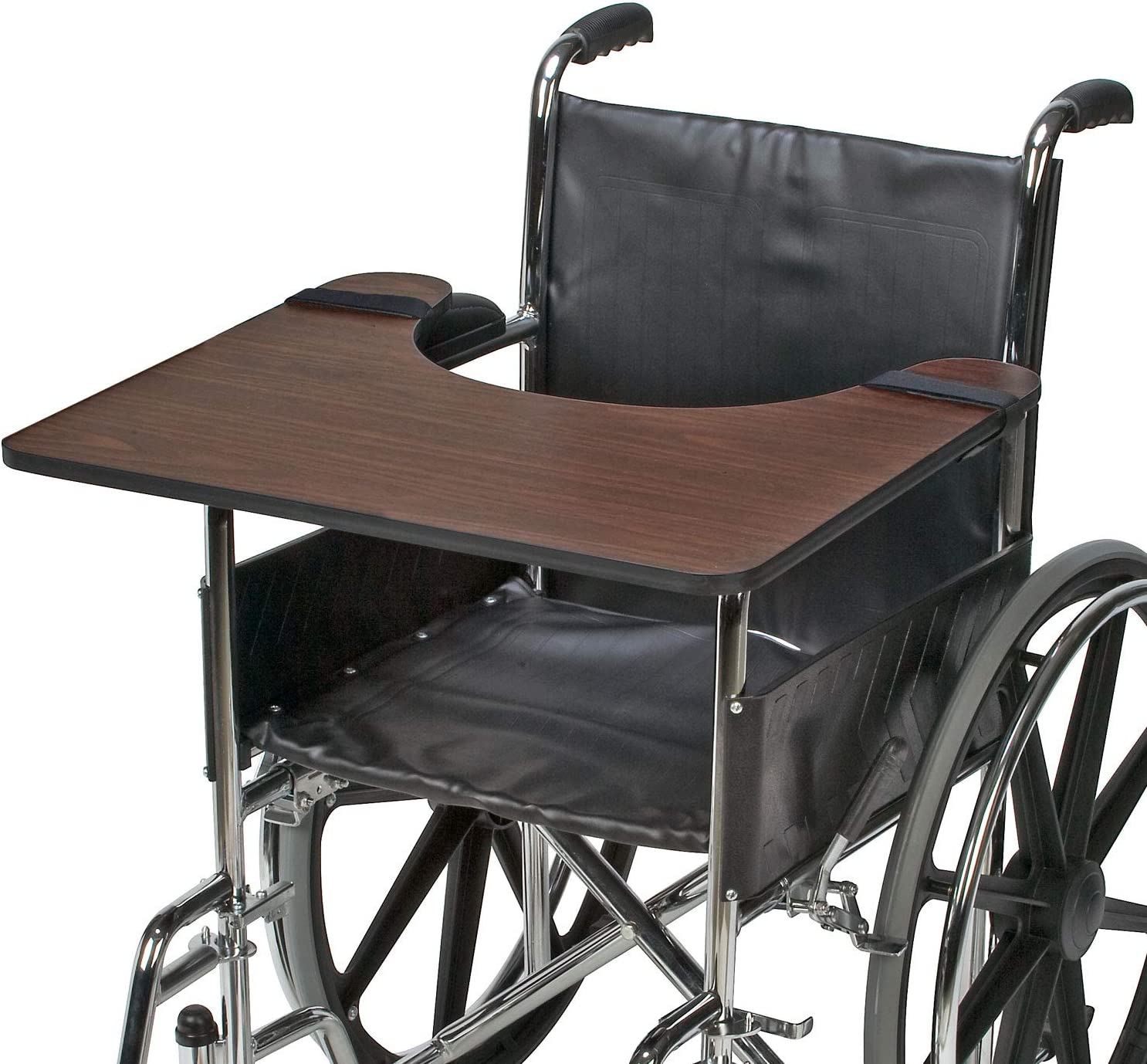 DMI Wheelchair Tray, Wood Wheelchair Lap Tray, Wheelchair Table