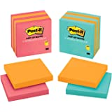 Post-it Pop-up Notes,  America's #1 Favorite Sticky Note, 3 in x 3 in, Assorted Colors, 5 Pads/Pack (3301-5ALT-M)