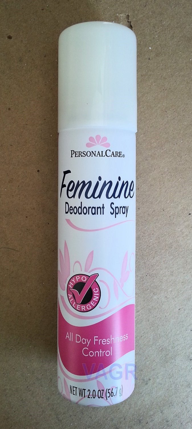 Personal Care Feminine Deodorant Spray 2 Oz