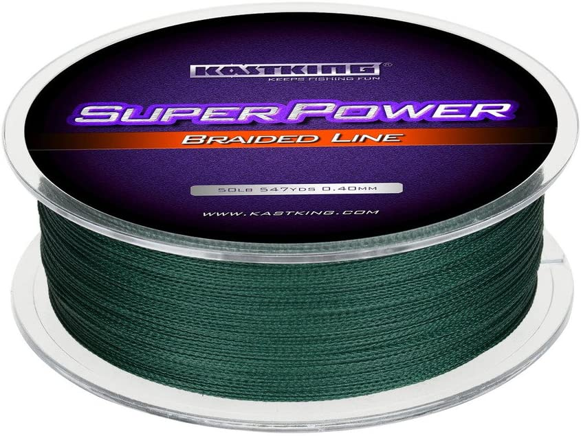 Geflochten Superpower/ /maximal Abriebfeste/ /Nicht ausziehbar/ KastKing Angelschnur /klein Durchmesser