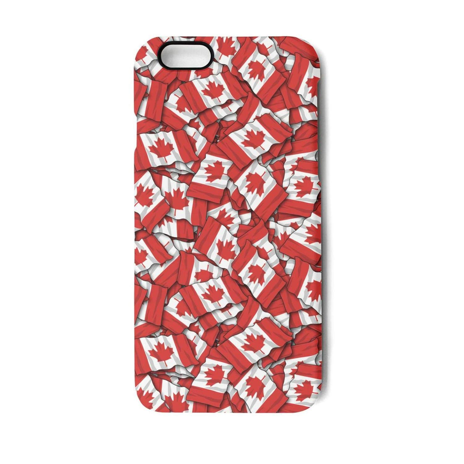 f77c9729f5d Amazon.com: Vekq iPhone 6 plus/6s Plus Case Canadian Flag Pattern Shock  Absorption TPU Back Cover Compatible with iPhone 6 plus/6s Plus: Cell  Phones & ...