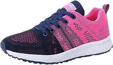 YiYLunneo Zapatos Mujer 2019 Malla Exterior Zapatillas Informales Sneakers con amortiguación Moda Outdoor Dama Gruesa Calzado de Deporte CN 35-40: Amazon.es: Ropa y accesorios