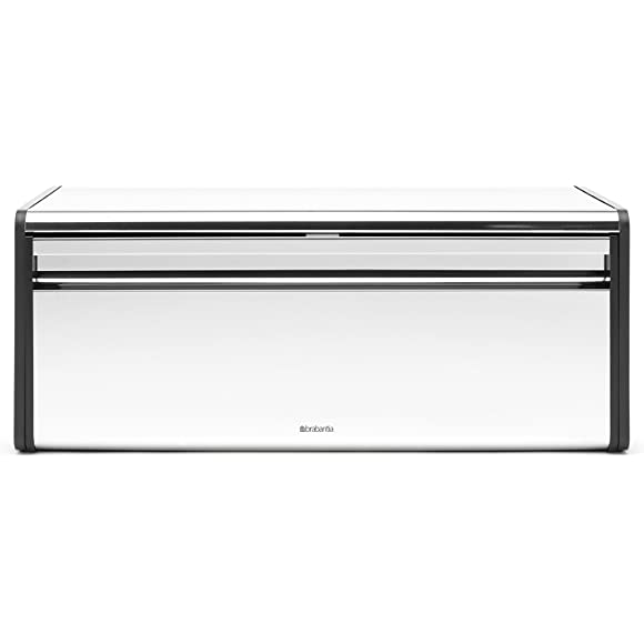 Brabantia Fall Front Brilliant Steel Bread Bin