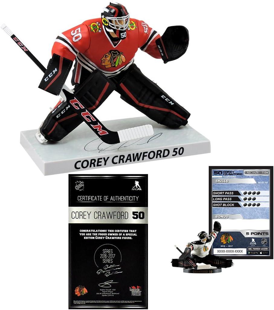 Imports Dragon Limited Edition NHL Hockey Corey Crawford Chicago Blackhawks