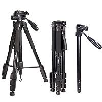 """2 in 1 treppiedi 70 """"/176.5cm Treodio con treppiedi per fotocamera Canon / Nikon / Sony DSLR / SLR"""