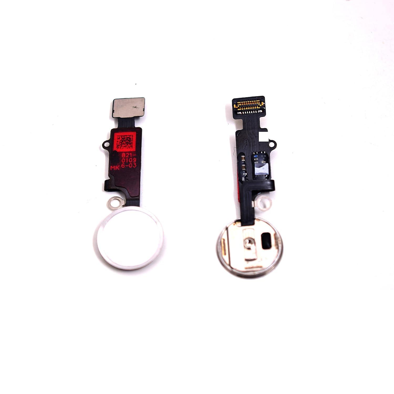 Schwarz Ersatz Home Button f/ür iPhone 7//7 plus mit Flexkabel Knopf Taste.
