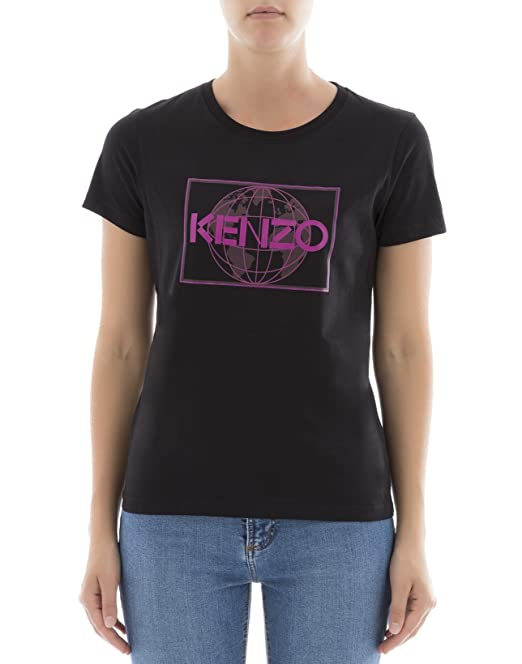 Kenzo Mujer F762TS72199099 Negro Algodon T-Shirt: Amazon.es: Ropa y accesorios