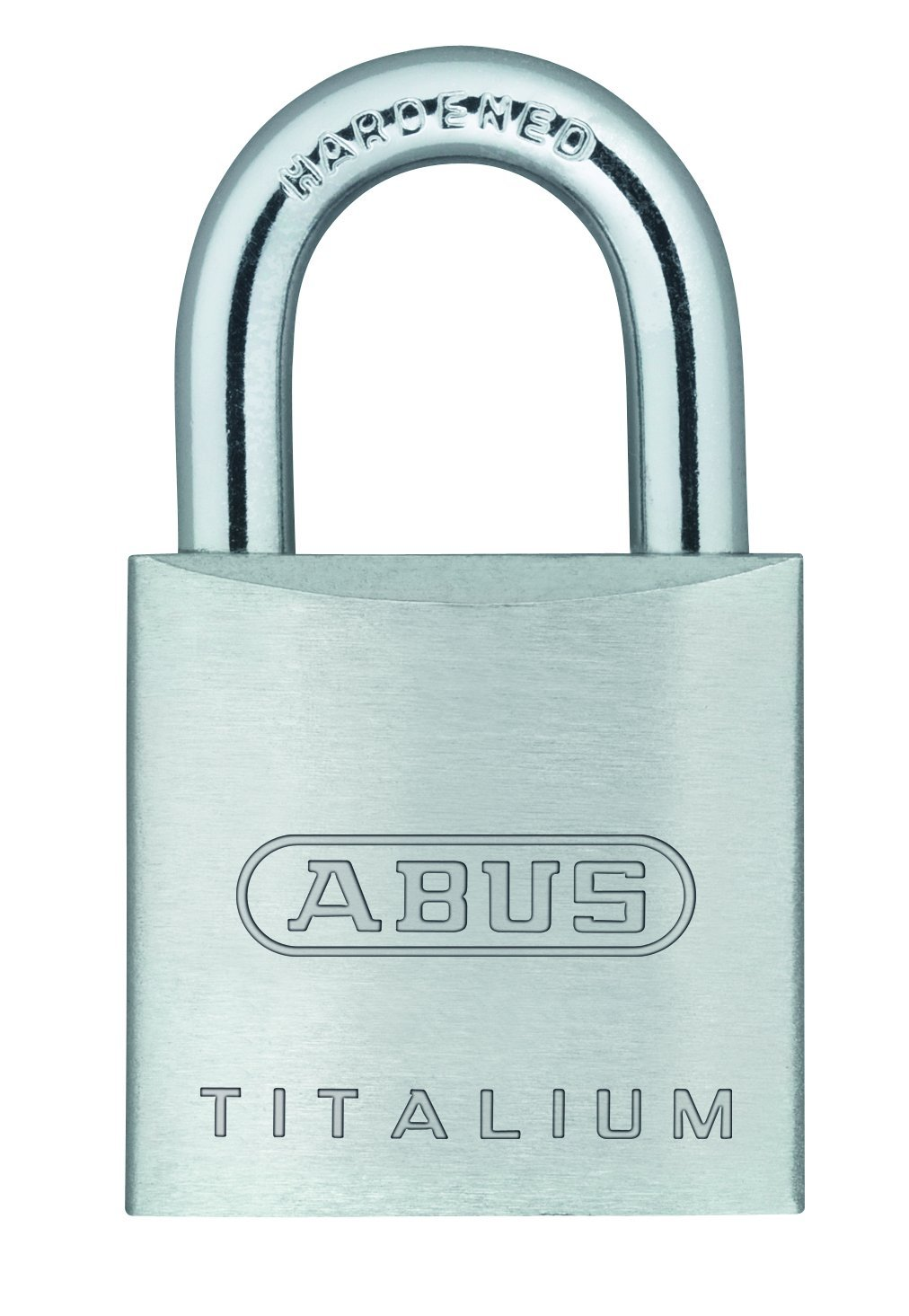 ABUS 64TI/20 Titalium Aluminum Alloy Padlock Keyed Different - Nano Protect Steel Shackle