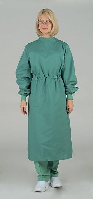 Amazon.com: Medline 606MJSL Tunnel Belt Surgeons Gown, Large, Jade ...
