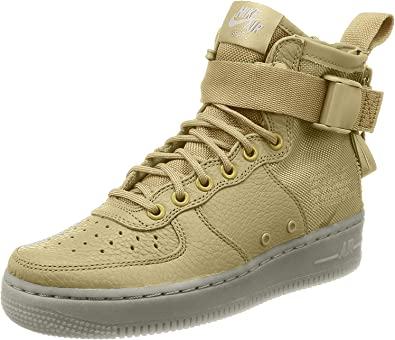 Amazon.com: Nike Sf Air Force 1 - Botas para mujer, Marrón ...