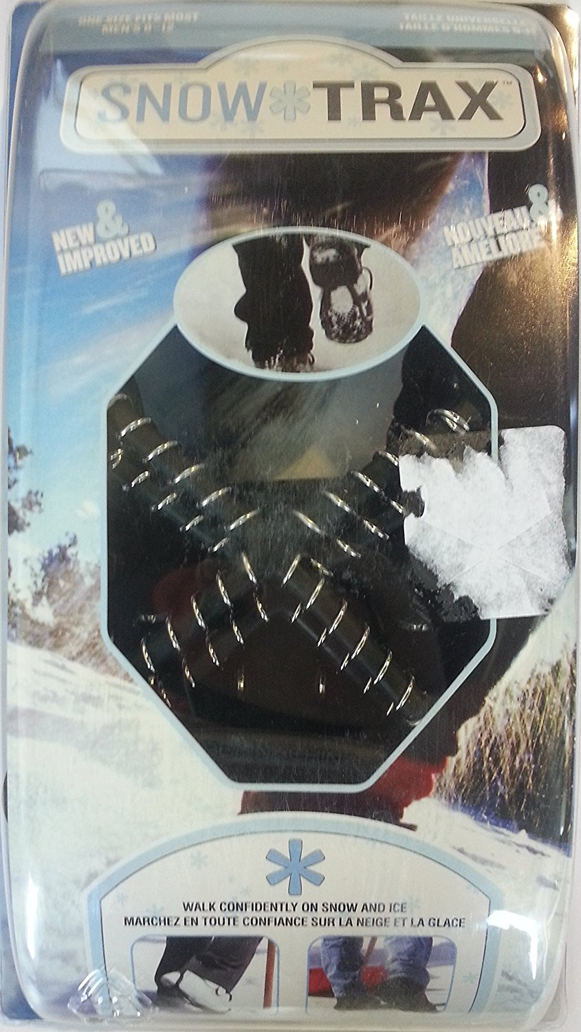 Snow Trax Traction Cleats Size 8-12 (One Size Fits All)