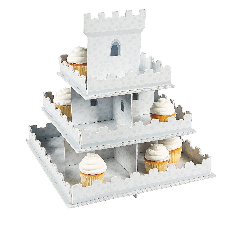 Knight's Kingdom Castle Cupcake Display