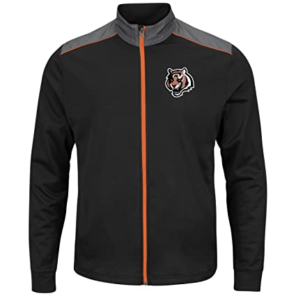 Amazon.com   Majestic Cincinnati Bengals NFL Team Tech Men s Full ... 5ac4b479a1