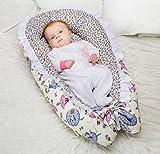 Lappi Baby Lounger Bed Bassinet - Gray Chevron